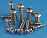 18-8 Stainless Steel Button Head Socket Cap Screws