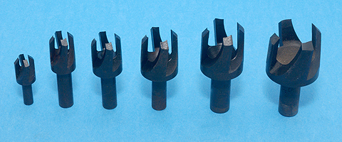 Fuller Countersinks and Plug Cutters