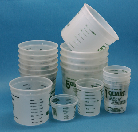 Merton S Fiberglass And Marine Supply Graduated Mixing Cups